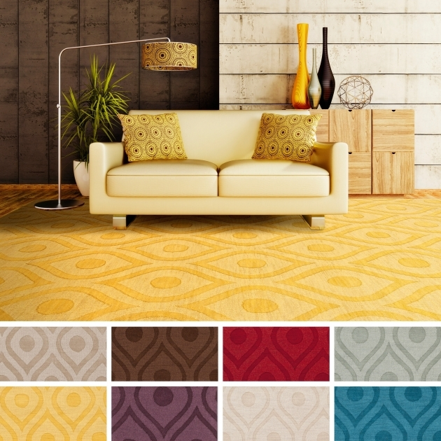 8x10 Area Rugs Yellow Geometric Model And Style Pic 76