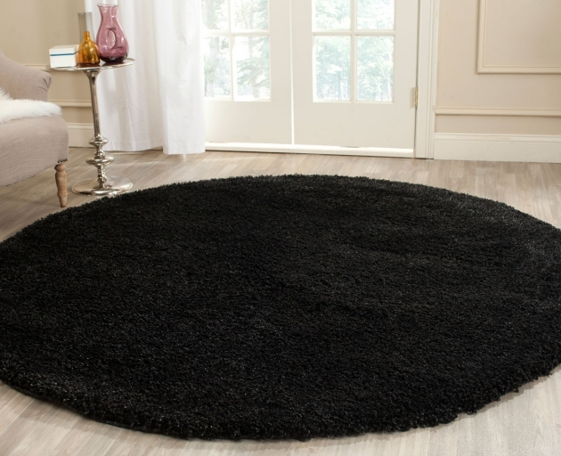 Black Shag Rug Thick Pile Black Shag Rug California Shags Picture 32