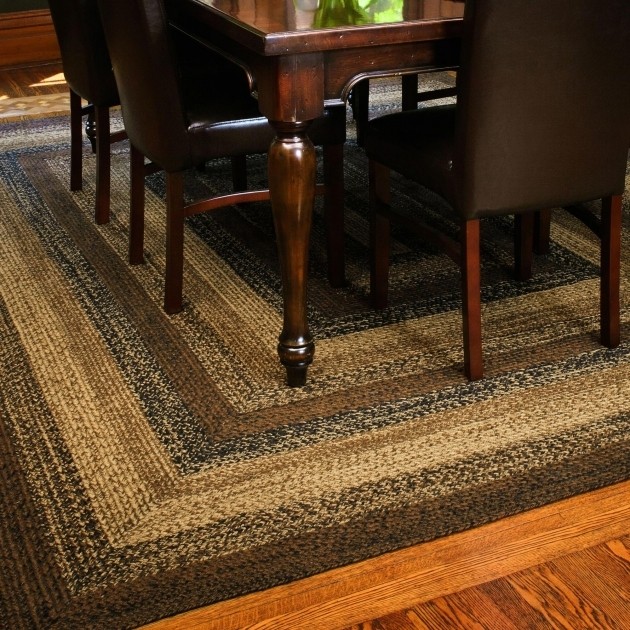 Braided Area Rugs IHB 201 Cappuccino Country Braided Rugs Oval Primitive Area Rug Photo 39