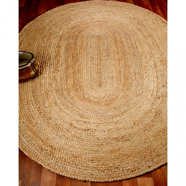 Braided Area Rugs Natural Area Rugs Edison Jute Oval 100%2525 Natural Jute Hand Braided Area Rug Pictures 53