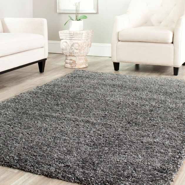 Gray Shag Rug California Dark Grey 4 Ft X 6 Ft Area Rug Sg151 Pics 51