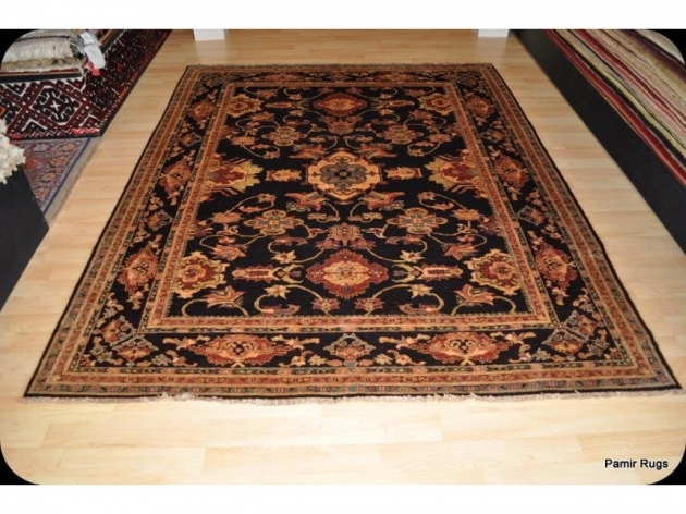 Hand Knotted Persian Rugs 6x9 Vegetable Dye Brown Pictures 96