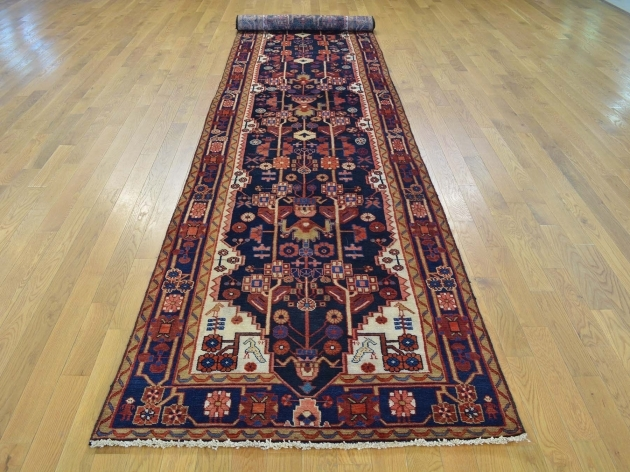 Hand Knotted Persian Rugs Carpets Xl Runner Full Pile Persian Nahavand Image 12