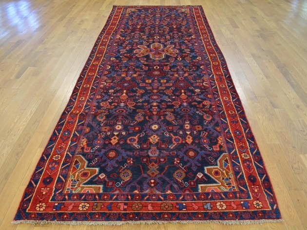 Hand Knotted Persian Rugs Nahavand Wide Gallery Runner Images 77