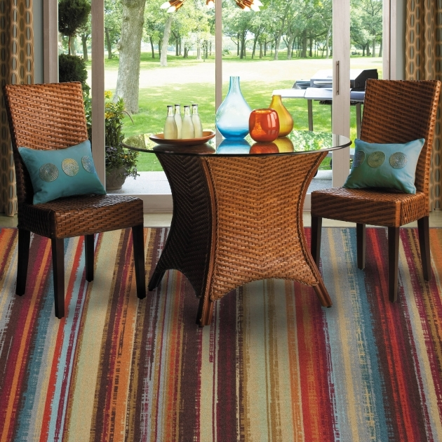 Indoor Outdoor Rugs Mohawk Home Avenue Stripe Nylon Rug Multi Colored Pictures 43