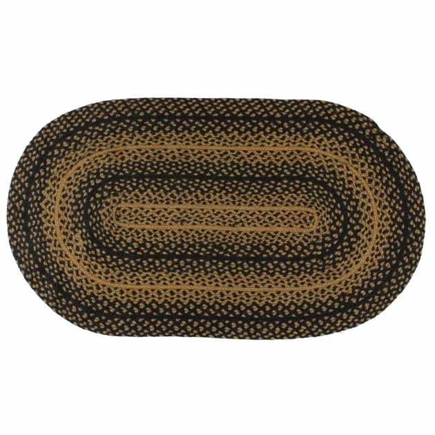 Oval Braided Rugs 3x5 Country Rugs Ebony Model And Style Photos 03
