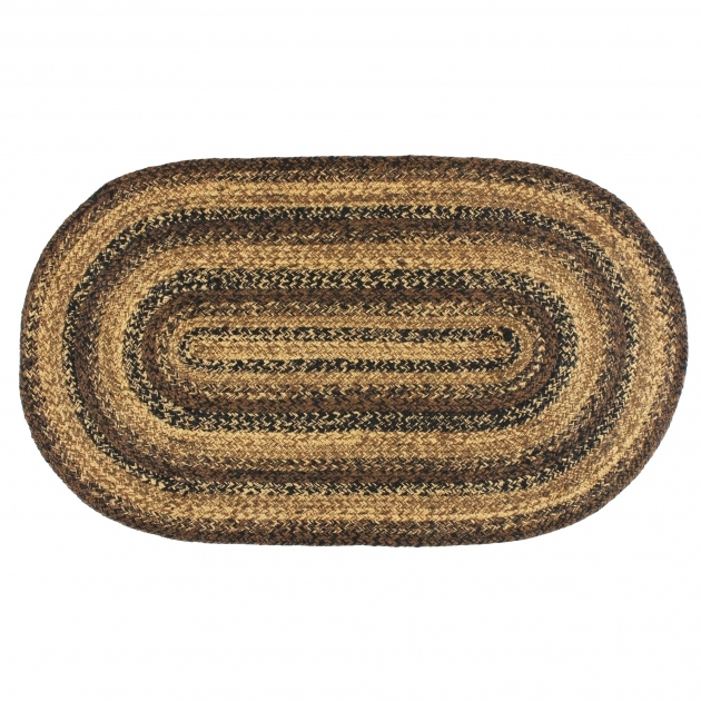 Oval Braided Rugs IHB 201 Cappuccino Photos 95