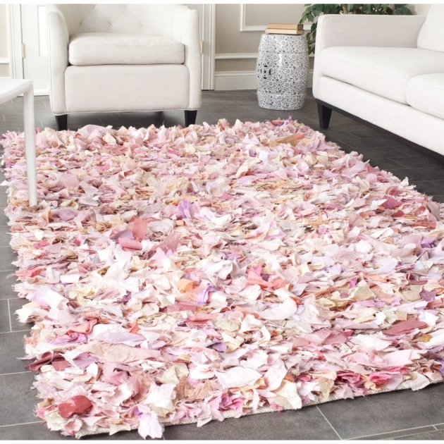 Pink Shag Rug Beautiful Best Shaggy Rugs For Your Pertaining To Pink Fluffy Rugs At Melbourne Photo 76