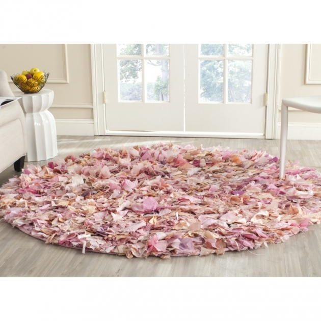 Pink Shag Rug Hand Woven Chic Pink Area Rugs Sg951p Images 99