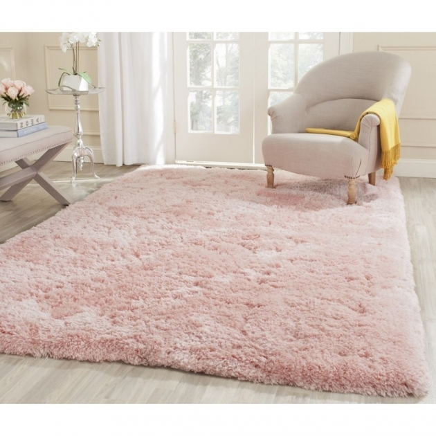 Pink Shag Rug Home Decor Images 37