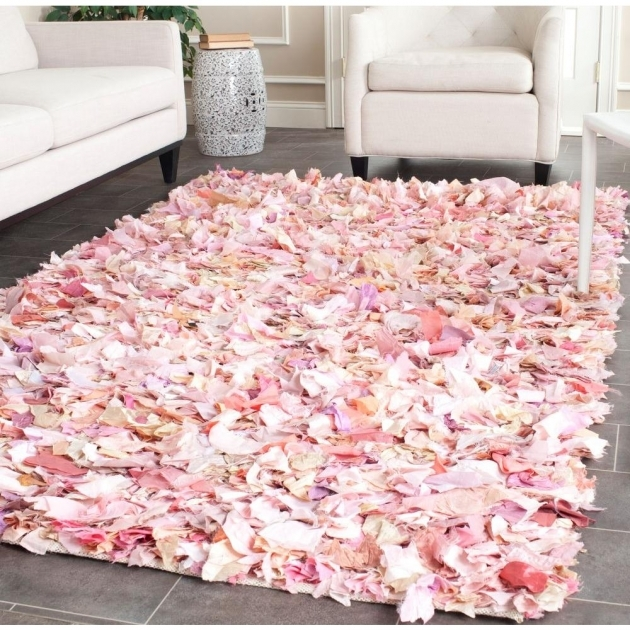 Pink Shag Rug Safavieh Rio Shag Ivorypink 5 Ft X 8 Ft Area Rug Sg951p Pictures 80