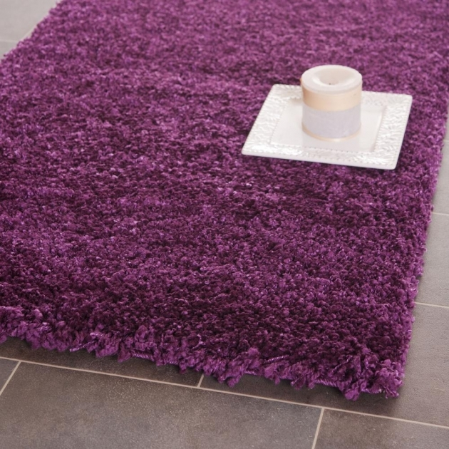Purple Shag Rug Ideas Area Rugs Photos 76