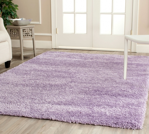 Purple Shag Rug Plush Pile Lilac Shag Rug California Photo 95