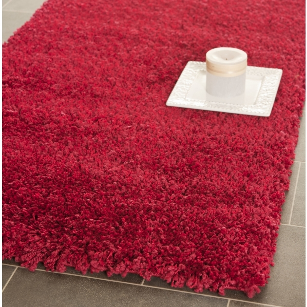 Red Shag Rug Safavieh California Shag Red Area Rug SG151 Pictures 25
