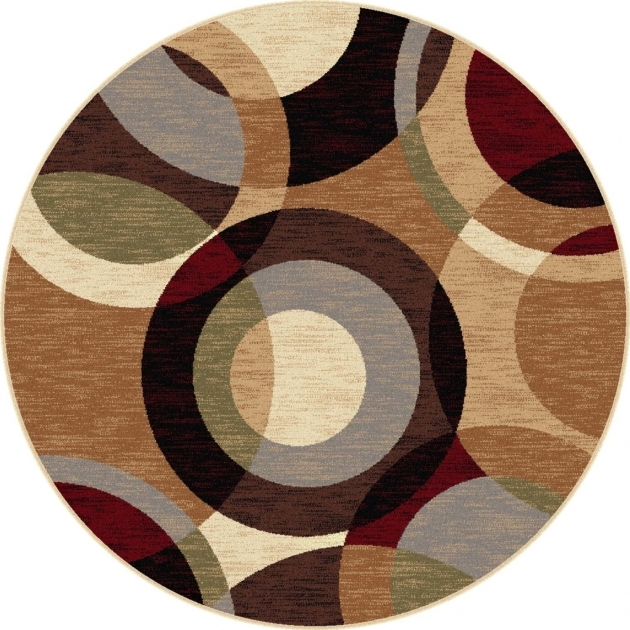 Round Area Rugs Cool Cyrcle Design Photo 07