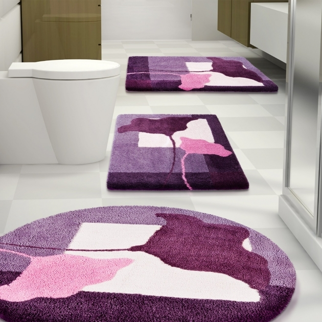 Round Bath Rugs Bathroom Home Designs Images 77