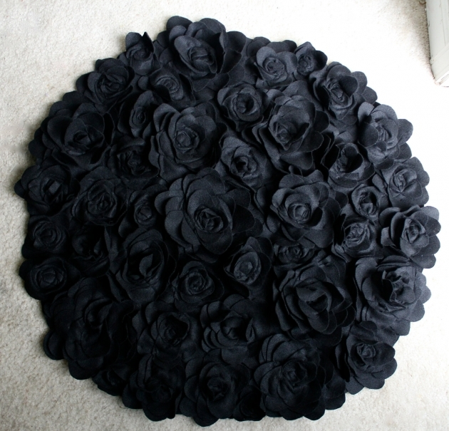 Round Bath Rugs Creative Ideas Bathroom Rugs Black Picture 89