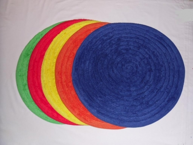 Round Bath Rugs Small Picture 96