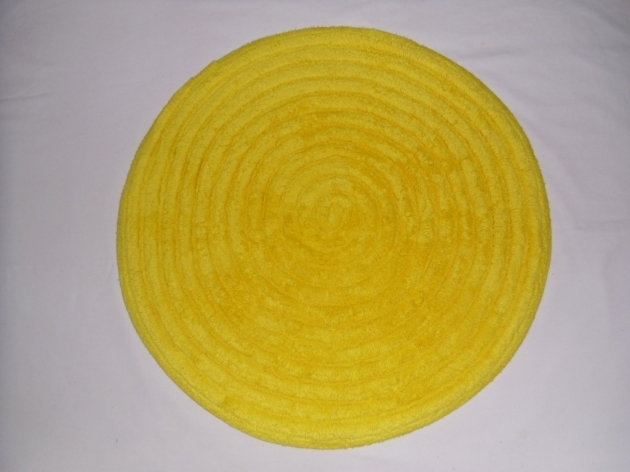 Round Bath Rugs Yellow Bathroom Sets Ideas Images 54