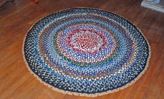 Round Braided Rugs Extraordinary For Floorings And Ideas Image 39