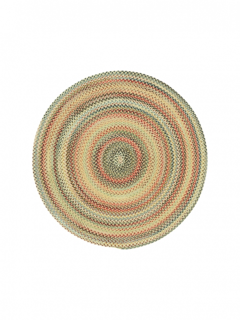 Round Braided Rugs Gold Portland Picture 34