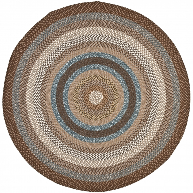 Round Braided Rugs Safavieh Brown Area Rug Pic 73