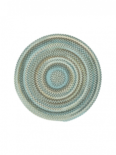 Round Braided Rugs Tan Hues Kill Devil Photo 09