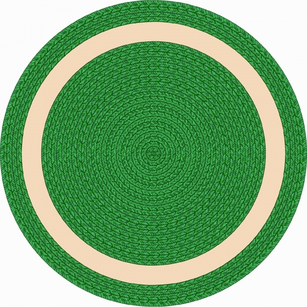 Round Braided Rugs Whimsy Sharing Circle Green Round Rug Pic 54