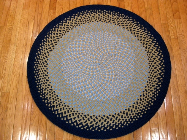 Round Braided Rugs Wool Pic 88