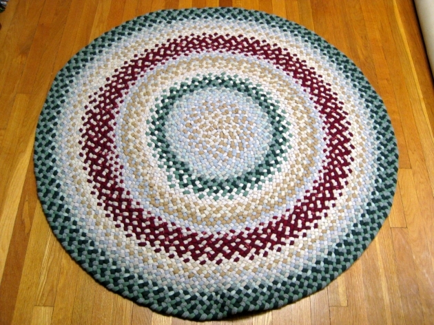 Round Braided Rugs Wool Pics 27