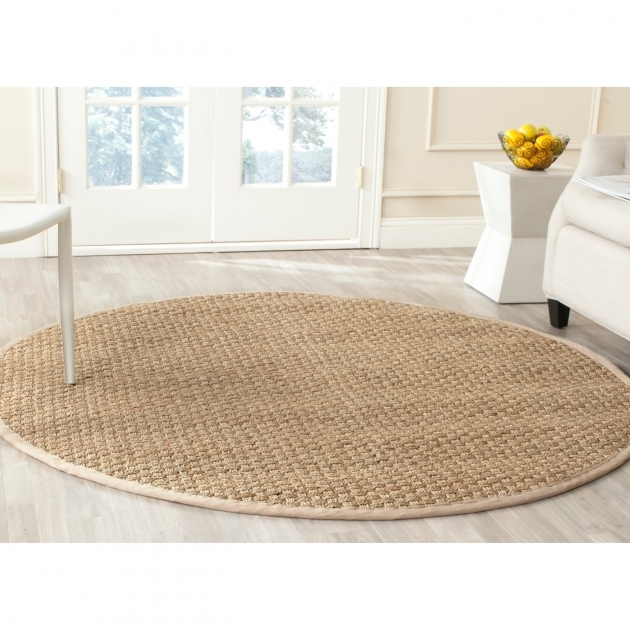 Round Jute Rug Round Seagrass Matting Rug Model And Style Picture 95