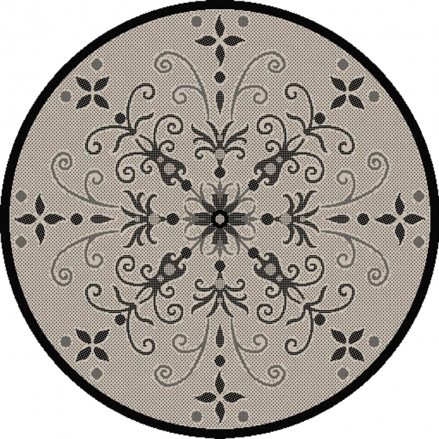 Round Outdoor Rugs Dynamic Photo 20