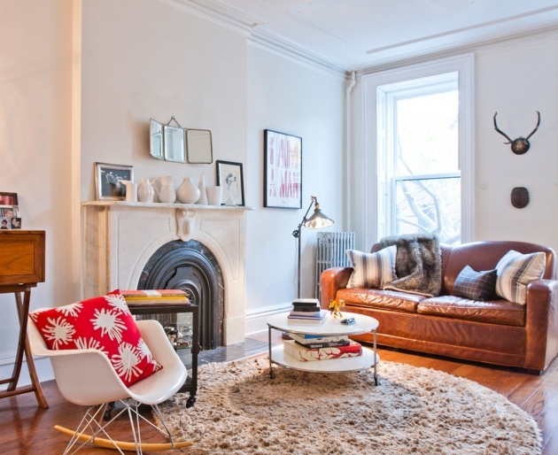 Round Shag Rug Living Room Eclectic With Antlers Beige Shag Rugs Image 84