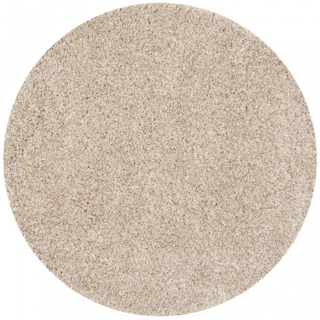 Round Shag Rug Shop Safavieh California Shag Beige Round Indoor Picture 83