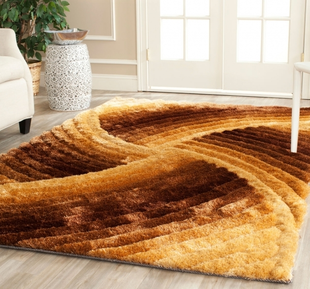 Shag Area Rugs Orange Persian Rug Photos 92
