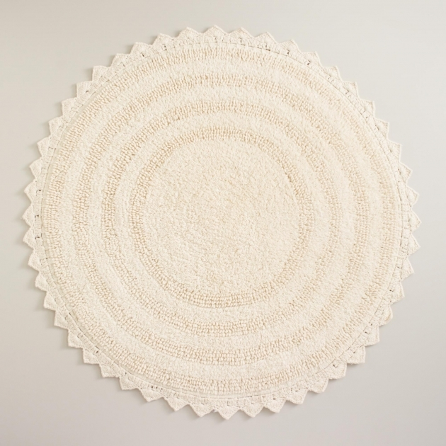 Small Round Rugs Bathroom Design Ideas Pics 32