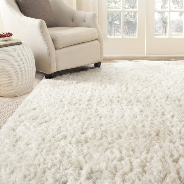 White Shag Area Rug Hand Tufted White Polyster Shag Area Rugs Sg270a Pics 71