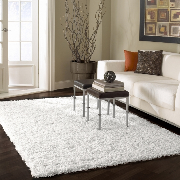 White Shag Area Rug NuLOOM Serano SHG1  Pictures 10