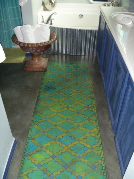 Bathroom Rug Runner Set Photo 52