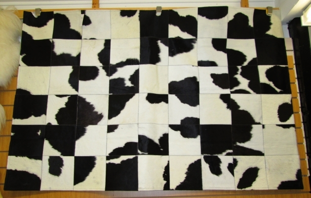 Black And White Cowhide Rug Largeblack And White Patchwork Pic 53