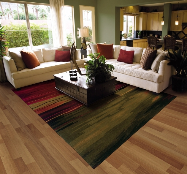 Extra Large Area Rugs Contemporary Living Room Design Pics 18