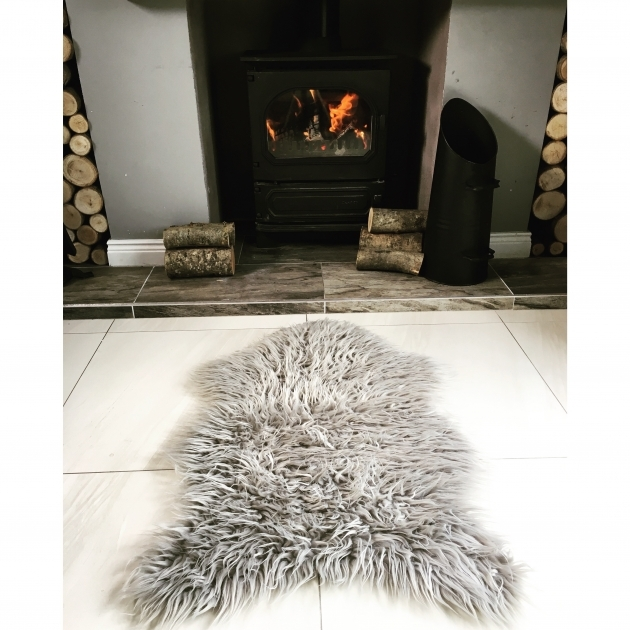 Faux Sheepskin Rug Silver Soft Shaggy Faux Sheep Skin Rug House Photo 68