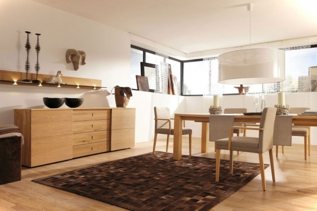 Kitchen Area Rugs Decorating Ideas Using Rectangular Brown Wooden Cabinets And Rounded White Hanging Pedants Picture 74