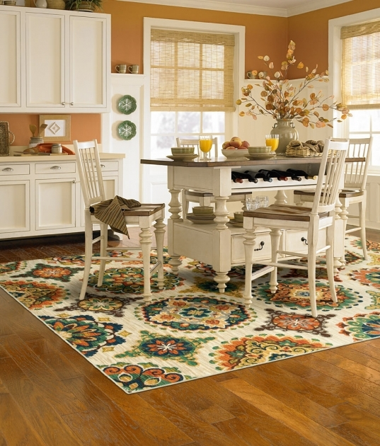 Kitchen Area Rugs For Hardword Floors Sunflower Pic 05