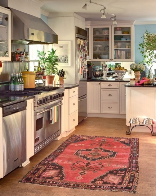 Kitchen Runner Rugs Moroccan Carpet Wooden Floor Pictures 29