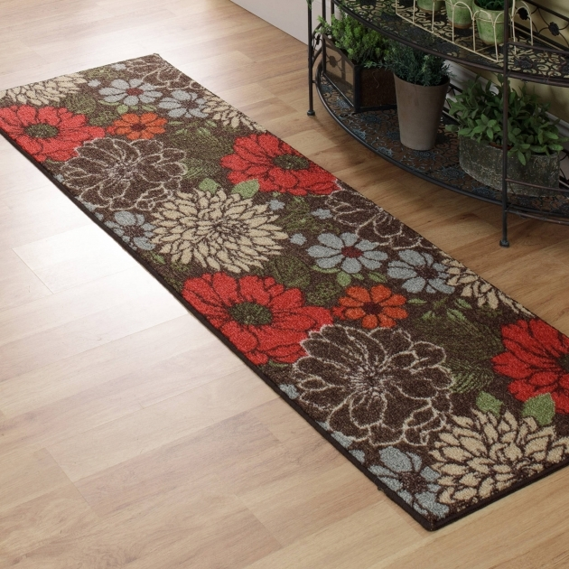Long Runner Rugs Flower Motif Images 62