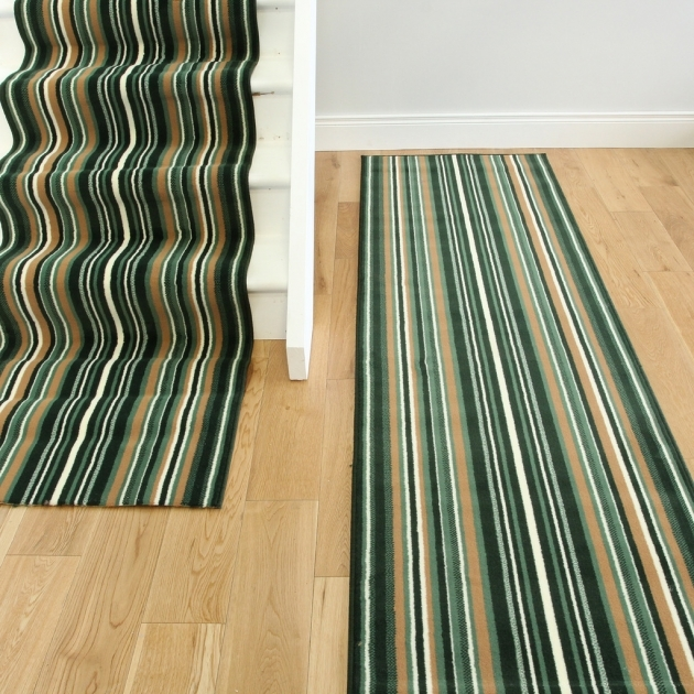Long Runner Rugs Lima 459 Dark GREEN Stair Carpet Runner Room Photos 51