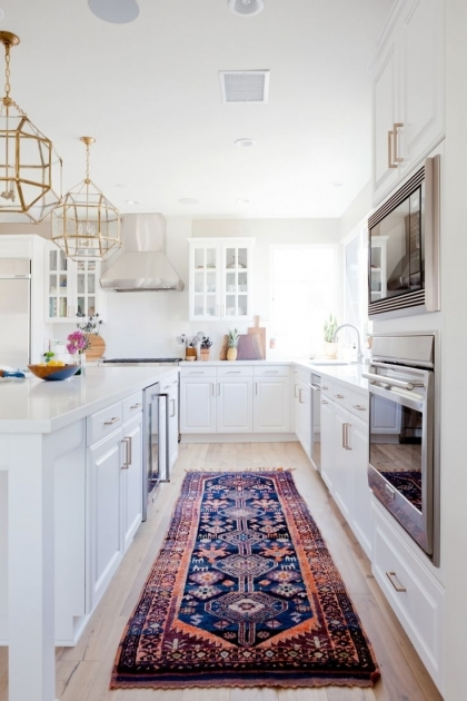 Long Runner Rugs Vintage Rugs In The Kitchen Photo 07