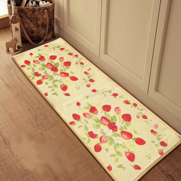 Long Runner Rugs Yazi Strawberry Long Kitchen Pics 52