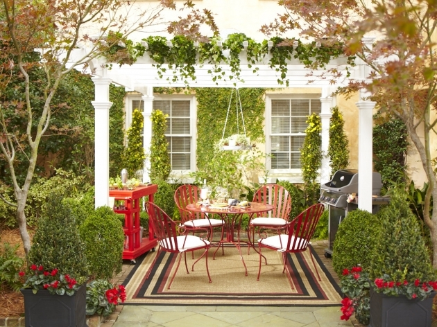 Outdoor Patio Rugs Small Decorating Ideas Budget  Photos 09